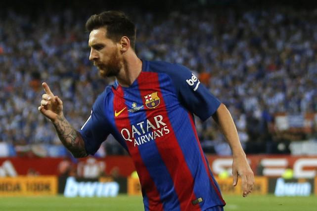 Lionel Messi... (Photo Daniel Ochoa de Olza, AP)
