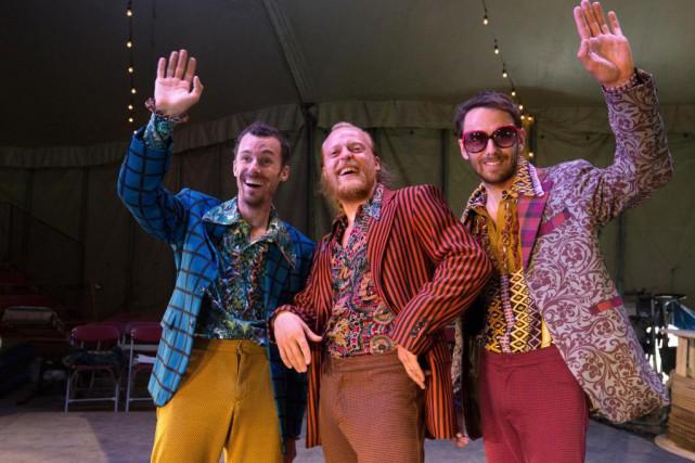 Le trio à la tête de Throw2Catch, BarthélémyGlumineau,... (Photo Robert Skinner, La Presse)