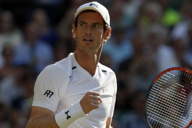 Le Britannique Andy Murray a signé une victoire... (Archives, Agence France-Presse)