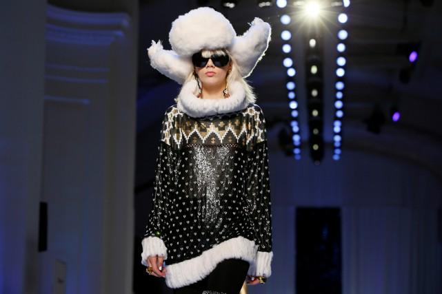 Jean Paul Gaultier habille pour l'hiver prochain des... (PHOTO REUTERS)