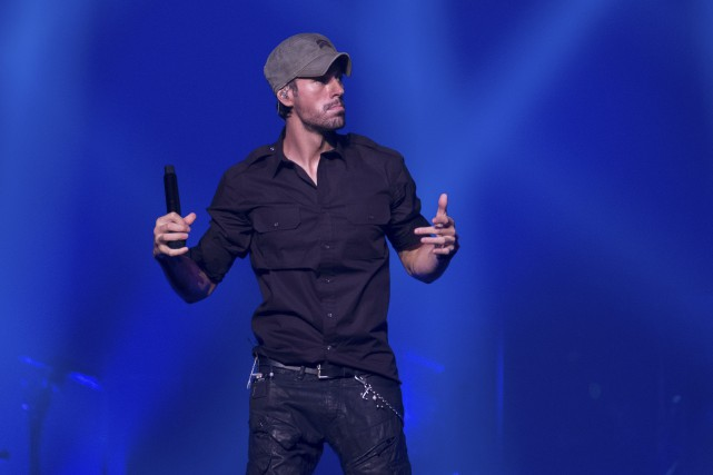Enrique Iglesias... (Photo Charles Sykes, AP)