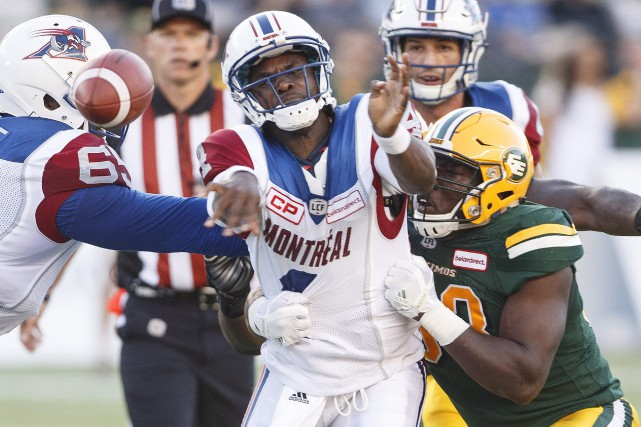 Le quart Darian Durant a été correct, sans... (Photo Jason Franson, PC)