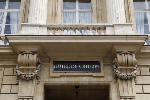 L'Hôtel de Crillon a été fermé pendant quatre... (AFP, Patrick Kovarik)