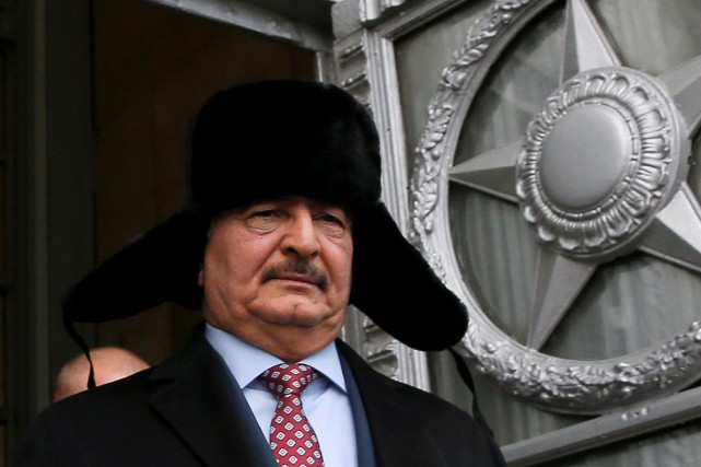 Au cours du printemps 2014, le maréchal Haftar... (ARCHIVES REUTERS)