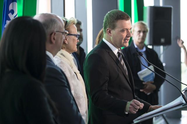 Le ministre de la Culture et des Communications,... (La Presse)