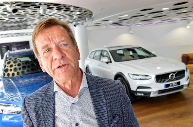 Selon le pdg de Volvo, Håkan Samuelsson, «cette... (AFP, Jonas Ekstromer)
