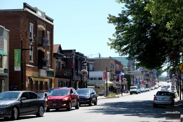 La communauté du centre-ville de Granby est parmi... (Alain Dion, La Voix de l'Est)
