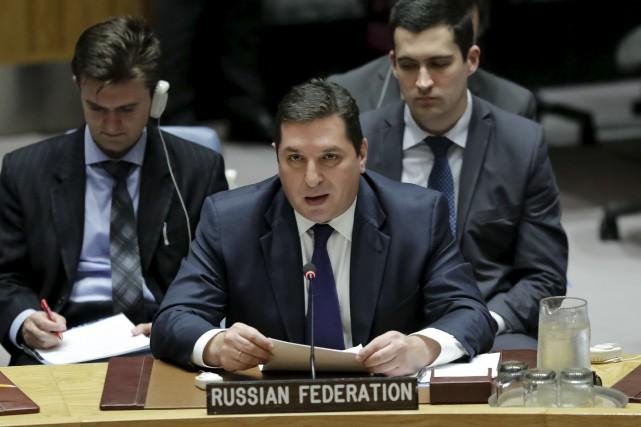 «Tout le monde doit admettre que les sanctions... (AP, Bebeto Matthews)