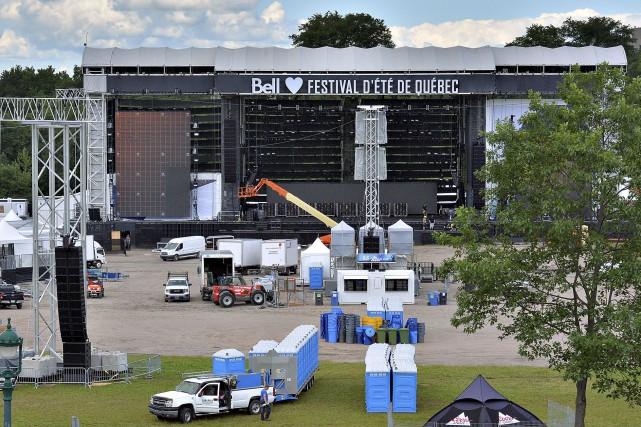 Pour les 10prochains jours, Québec vibrera au rythme... (Le Soleil, Patrice Laroche)