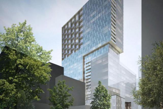 HUMANITI Montréal est un projet mixte ayant cinq... (illustration fournie par la firme Lemay)