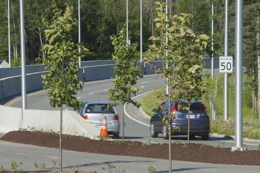 La limite de vitesse sur de Portland, entre... (Spectre Média, René Marquis)