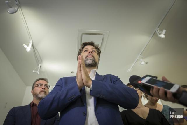 Luc Ferrandez... (Photo Ivanoh Demers, La Presse)