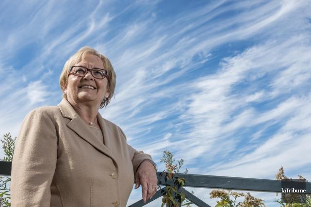 L'ex-mairesse Colette Roy Laroche... (Archives La Tribune)