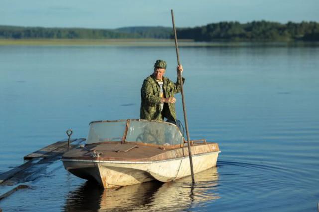 Aleksey Tryapitsyn, le facteur du titre, est chargé... (Photo fournie par Carusel Film Distribution)