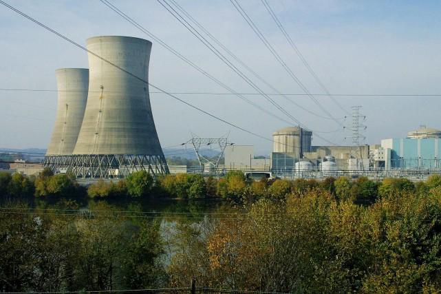 La Centrale nucléaire de Three Mile Island, située... (ARCHIVES AFP)