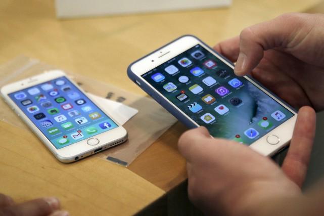 Apple avait attaqué Qualcomm en janvier aux États-Unis,... (ARCHIVES AP)