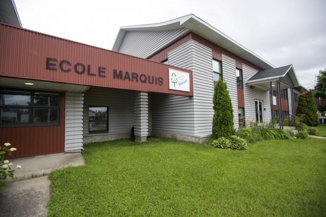 La fermeture de l'école Marquis oblige la Commission...