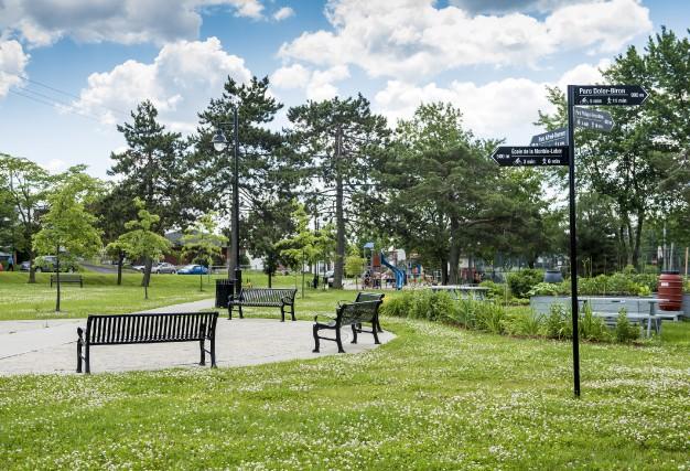 Le parc Édouard-Boudreau a été le théâtre des... (Spectre média, Jessica Garneau)