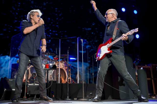 The Who à Toronto en 2016.En 2015, les... (William Snyder)