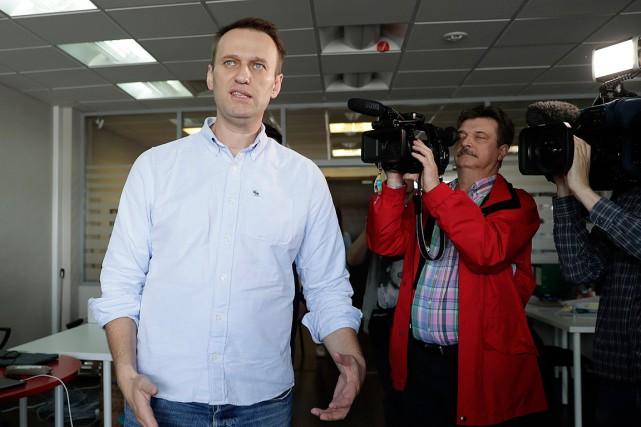Alexeï Navalny avait été condamné à une peine... (PHOTO TATYANA MAKEYEVA, REUTERS)