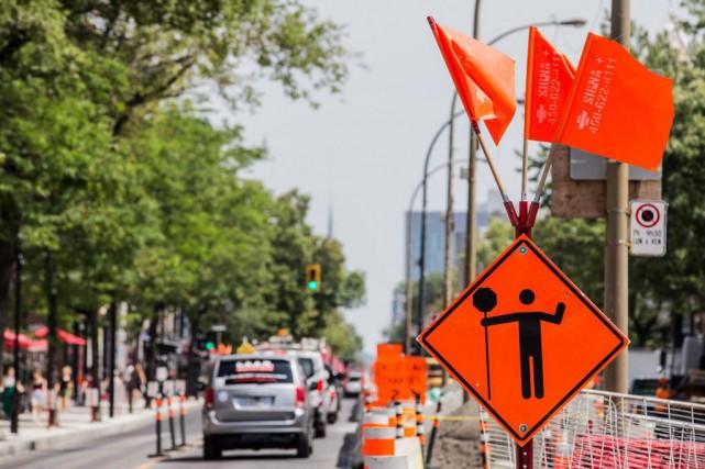 Plusieurs entraves viendront perturber la circulation, ce week-end,sur... (PHOTO EDOUARD PLANTE-FRÉCHETTE, ARCHIVES LA PRESSE)