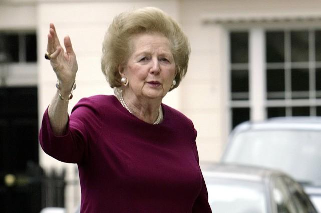 La première ministreMargaret Thatcher a été la premièrefemme... (PHOTO LEON NEAL, ARCHIVES AGENCE FRANCE-PRESSE)