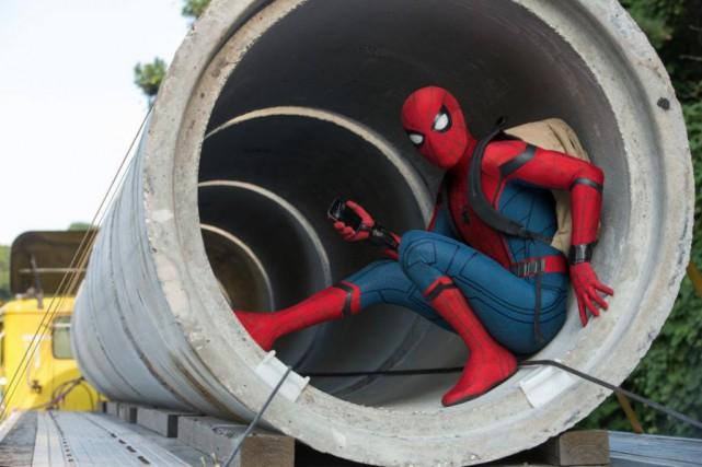 Spider-Man:Homecominga rapporté 117 millions de dollars entre sa... (Photo fournie par Sony Pictures)