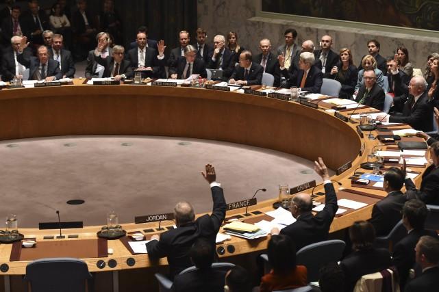 Le texte sera soumis au vote ce samedi.... (Photo Archives AFP)