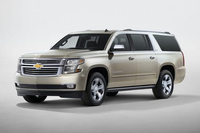 Un Chevrolet Suburban 3500HD LT.... (Photo : General Motors)