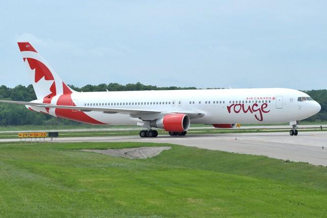 Air Canada Rouge offre pour toute la saison estivale une liaison directe entre... (Photo fournie par Air Canada)