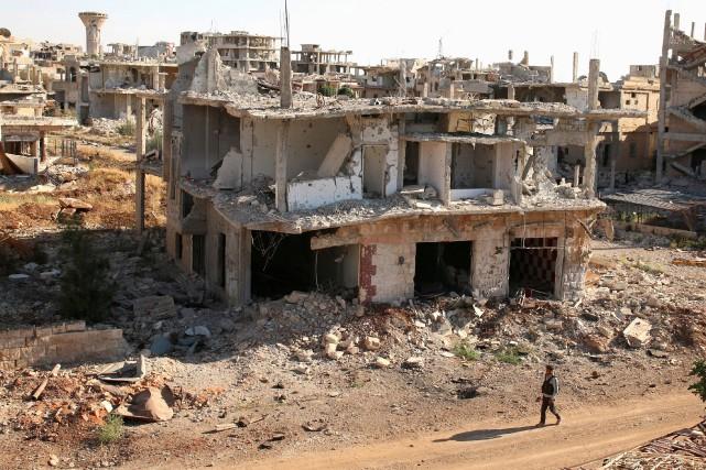 Russes et Américains sont convenus vendredi d'un cessez-le-feu à partir de... (Photo Alaa Al-Faqir, archives REUTERS)