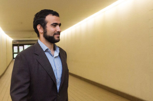 Sur la photo, Omar Khadr en septembre 2015.... (Photo Amber Bracken, Archives La Presse Canadienne)