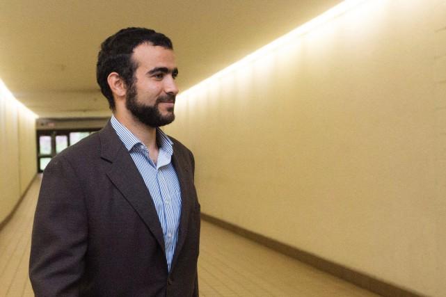 Sur la photo, Omar Khadr en septembre 2015.... (Photo Amber Bracken, Archives La Presse Canadienne)