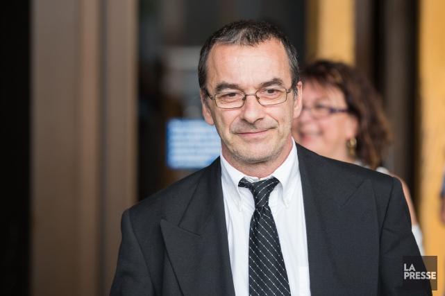 Michel Cadotte, accusé d'avoir tué sa femme atteinte... (Simon Groulx, La Presse)