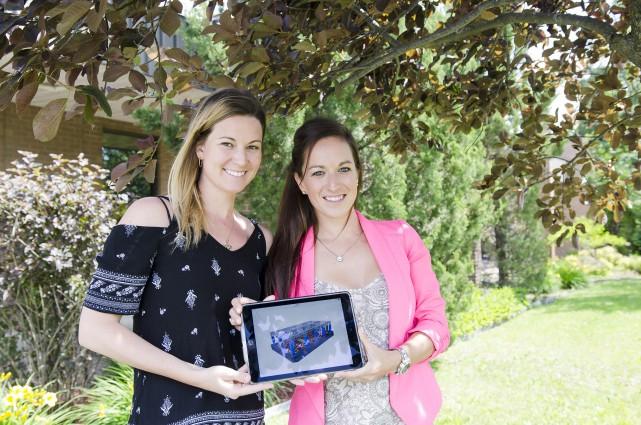 Stéphanie Leclair et Laurie-Anne Bédard sont à l'origine... (Spectre média, Stéphanie Vallières)