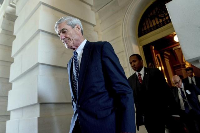 Robert Mueller, procureur spécial en charge de l'enquête... (Archives Associated Press)