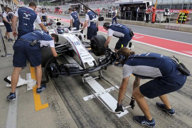 Les deux séances d'essais libres du GP d'Autriche... (AP, Ronald Zak)