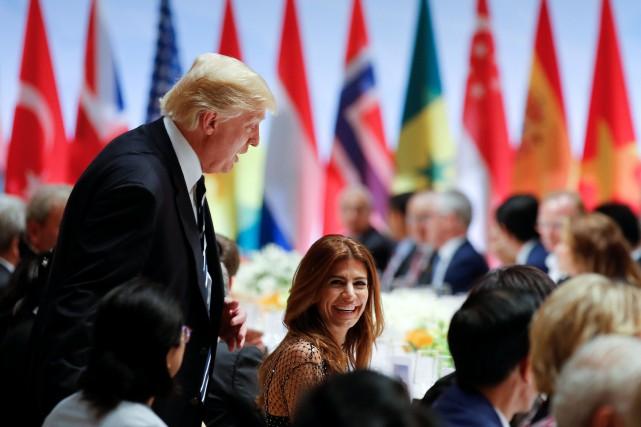 Le communiqué final des chefs d'État et de... (Photo Reuters)