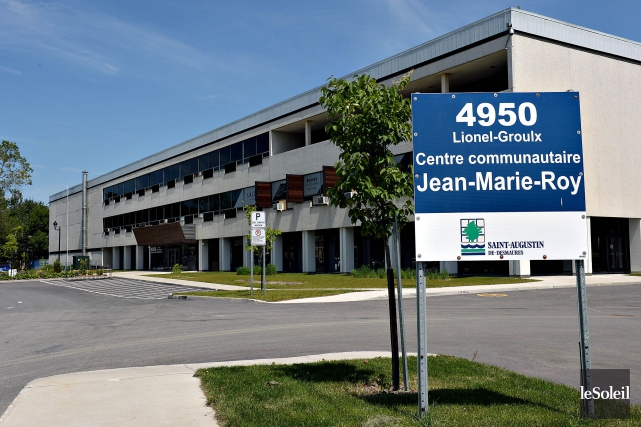 Le Centre Jean-Marie-Roy... (Photothèque Le Soleil, Patrice Laroche)