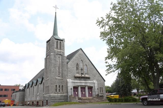 L'église Saint-Joseph pourrait devenir le site du futur... (Christophe Boisseau-Dion, La Voix de l'Est)