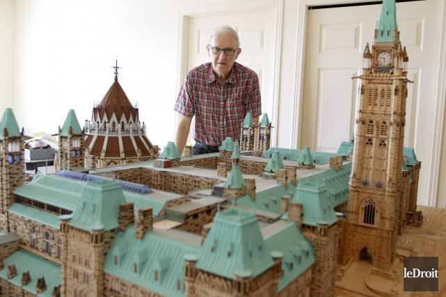 M. Grégoire Lefrançois a investi 10 000 heures... (Patrick Woodbury, Le Droit)