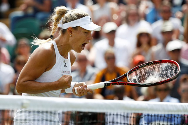 Angelique Kerber... (PHOTO STEFAN WERMUTH, REUTERS)