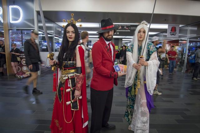 L'an dernier, le ComicCon avait attiré 60000personnes et... (Photo Peter McCabe, La Presse canadienne)