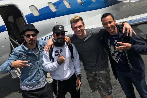 Kevin, AJ, Nick et Howie... (Instagram)