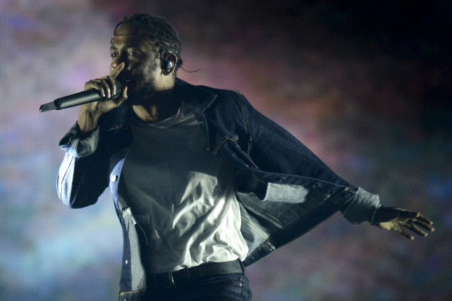 Vendredi soir, Kendrick Lamar a exprimé une certaine... (Le Soleil, Yan Doublet)