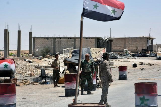 La décision d'imposer un cessez-le-feu en Syrie, annoncée... (Photo George OURFALIAN, AFP)