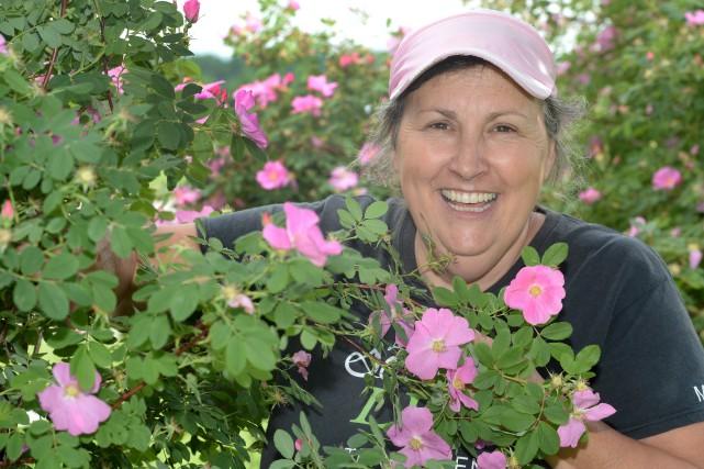 L'horticultrice Marthe Laverdière a connu la célébrité grâce... (Le Soleil, Jean-Marie Villeneuve)