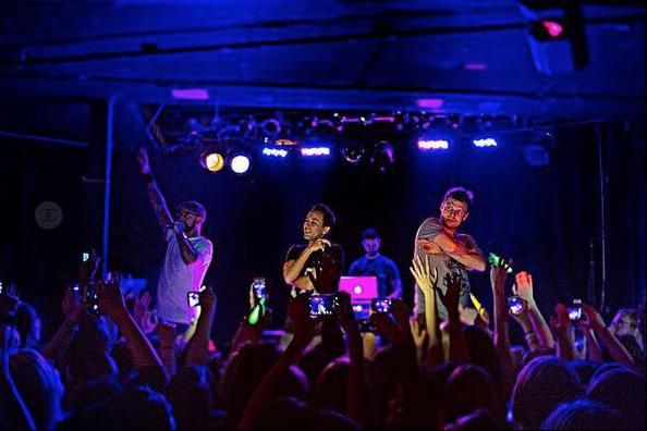 Les Backstreet Boys lors d'un précédent «after party»... (Tirée de Facebook)