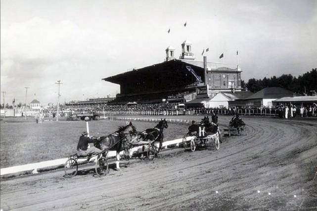 L'Hippodrome de Québec en 1959...