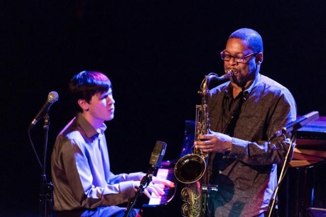 Le saxophoniste Ravi Coltrane bouclait la boucle samedi,... (PHOTO ULYSSE LEMERISE, COLLABORATION SPÉCIALE)